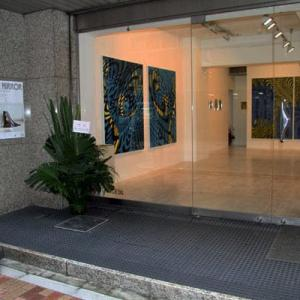"""2014、""""STOP IT ! """"& """"SHARING the WAVES""""  at galleria grafica bis"""