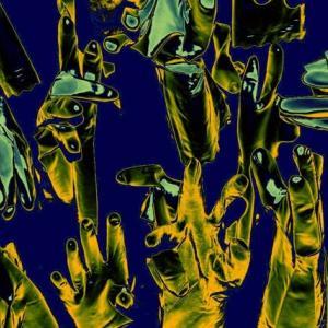 手ぶくろー記憶の断片 (Gloves )シリーズー18  現代美術