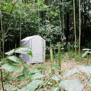 開拓Act.7 |物置テント設置