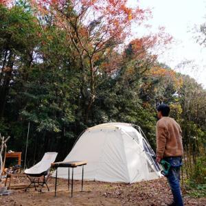 CAMP #9|シェルターで贅沢ソロキャンプ