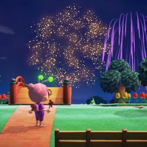 夏の花火と、夢の中