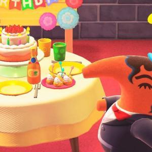 アントニオさんの誕生会