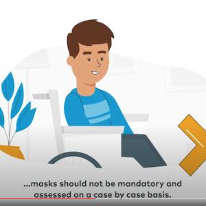 【厚生労働省】マスク等の着用が困難な状態にある発達障害のある方等への理解について