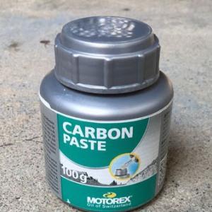 ☆☆★ MOTOREX Carbon Pasteでカーボン製品のリスクを下げる
