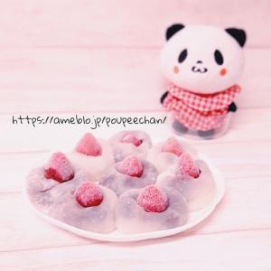 【電子レンジ×冷凍いちごで簡単】いちご大福の作り方♪