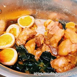 自家製!トロトロ豚の角煮&煮卵♪