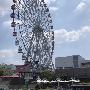 【愛知県】刈谷ハイウェイオアシスで水遊び!遊園地もあり大満足でした!