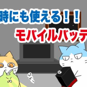 1万円代でそこそこ使えるポータブルバッテリーを紹介!