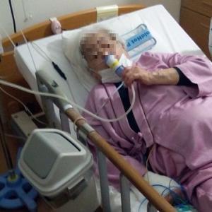 2017年3月 喘息による入院 その1