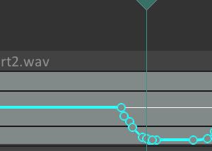 【REAPER】vstを使用しないで徐々にピッチ変更する方法