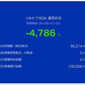 9月②つみたてNISA運用損益❗️( ´  ` )