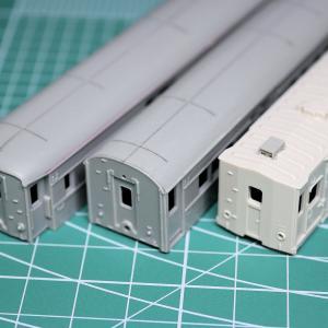 グリーンマックス「小荷物列車 PartⅡ」を作る【2】