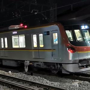 東京メトロ17000系の試運転を目撃!