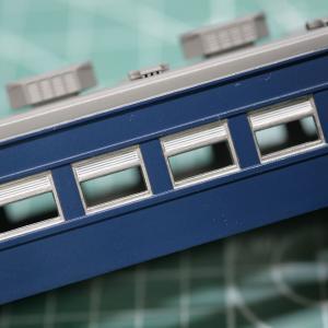 スロ81系 お座敷列車「シナ座」を作る【4】