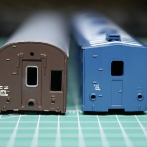 グリーンマックス「小荷物列車 PartⅡ」を作る【4】