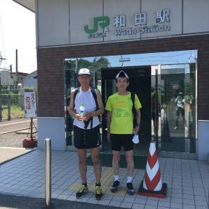 2021サマーランニング(和田駅~岩見温泉ラン)は無事終了しました!