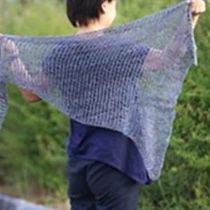 Soyokaze shawl まもなくリリース!