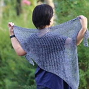 Soyokaze shawl リリースしました。9月28日まで50%オフです!