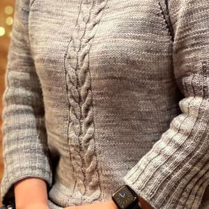 Malabrigo sock で編む贅沢セーター 完成!