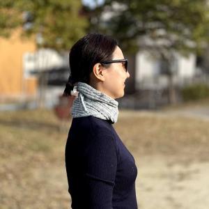 Fish tail scarf リリースしました!