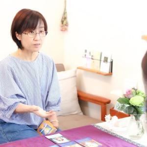 保護中: 「ヒーリングサロンはる」の引野律子さんにインタビューを行いました。
