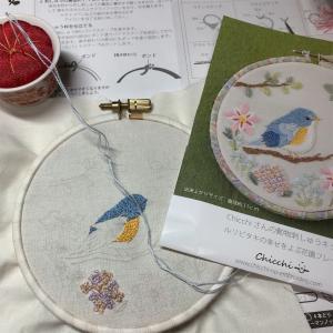 フランス刺繍(1)