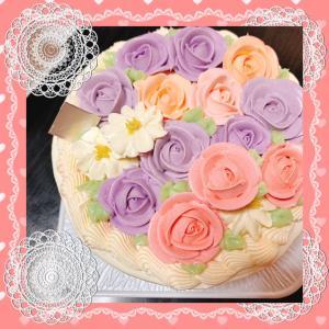 人生薔薇色になるケーキ♡