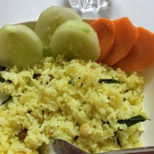 南インド家庭料理レシピ:レモンライス(Lemon Rice)