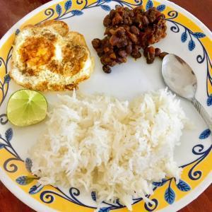 南インド家庭料理:インゲン豆のスパイス炒め(Rajima Masala)