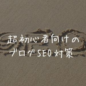 【超初心者向け】ブログ記事のSEO対策【全部知ってる?】