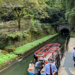 〇琵琶湖疏水船とアメリカイーグル銀貨♪