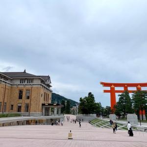 京セラ美術館*この角度で大鳥居を観るとは*
