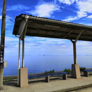 GoToトラベル 四国一周カブの旅 下灘駅→しまなみ海道→鞆の浦