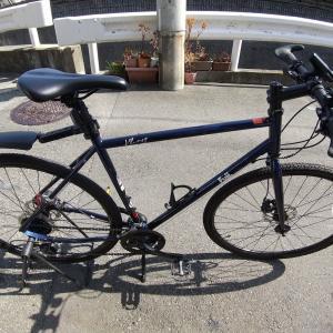 クロスバイクのフロントシングル化をしよう