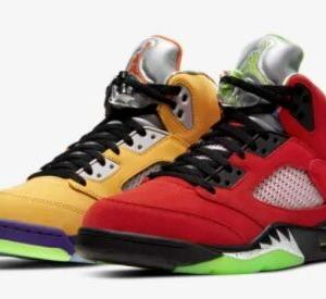 "【11月7日発売】NIKE AIR JORDAN 5 ""WHAT THE"""