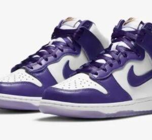 "【12月3日発売】WMNS NIKE DUNK HIGH  ""VARSITY PURPLE"""