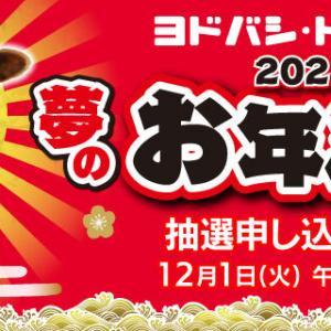 【12月1日~6日まで抽選受付】ヨドバシカメラ 2021年 夢のお年玉箱