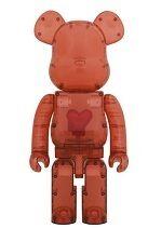 【12月12日発売】BE@RBRICK Emotionally Unavailable Clear Red Heart 1000%