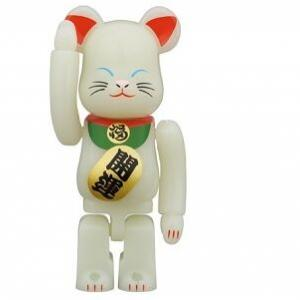 【1月23日/24日発売】BE@RBRICK 招き猫 蓄光 弐 100%/400%