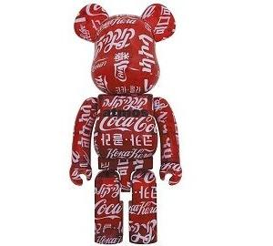 【6月26日発売】BE@RBRICK atmos × Coca-Cola CLEAR RED 1000%