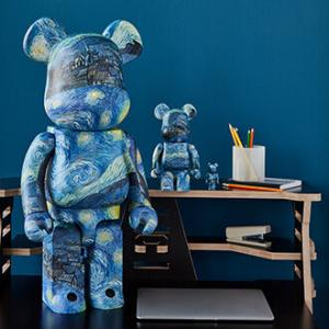 【8月7日発売】Vincent van Gogh The Starry Night BE@RBRICK 100%&400%/1000%