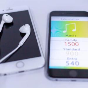 スマホ・タブレットで音楽ストリーミングアプリを使おう!