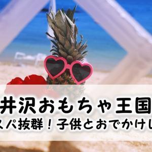 軽井沢おもちゃ王国はコスパ抜群!1日中遊んだ子供とお出かけレポ