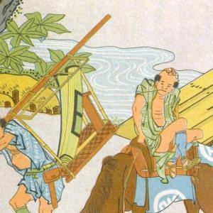浮世絵と馬   Horse depicted in Ukiyo-e