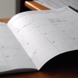 6月の給料と7月の勤務表
