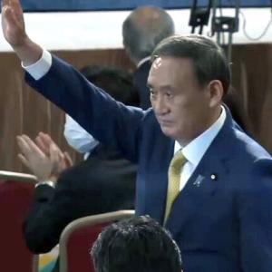菅さん、新自民党新総裁に決定!