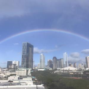 【幸せが訪れる!】ハワイ の虹について【ダブルレインボー】