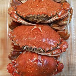 ヘラ蟹の燻製・・・余市にて
