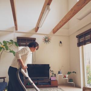 【Instagram投稿】掃除機がけはいつする?