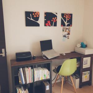 【お仕事スペース】北欧好き整理収納アドバイザーの小さな仕事場